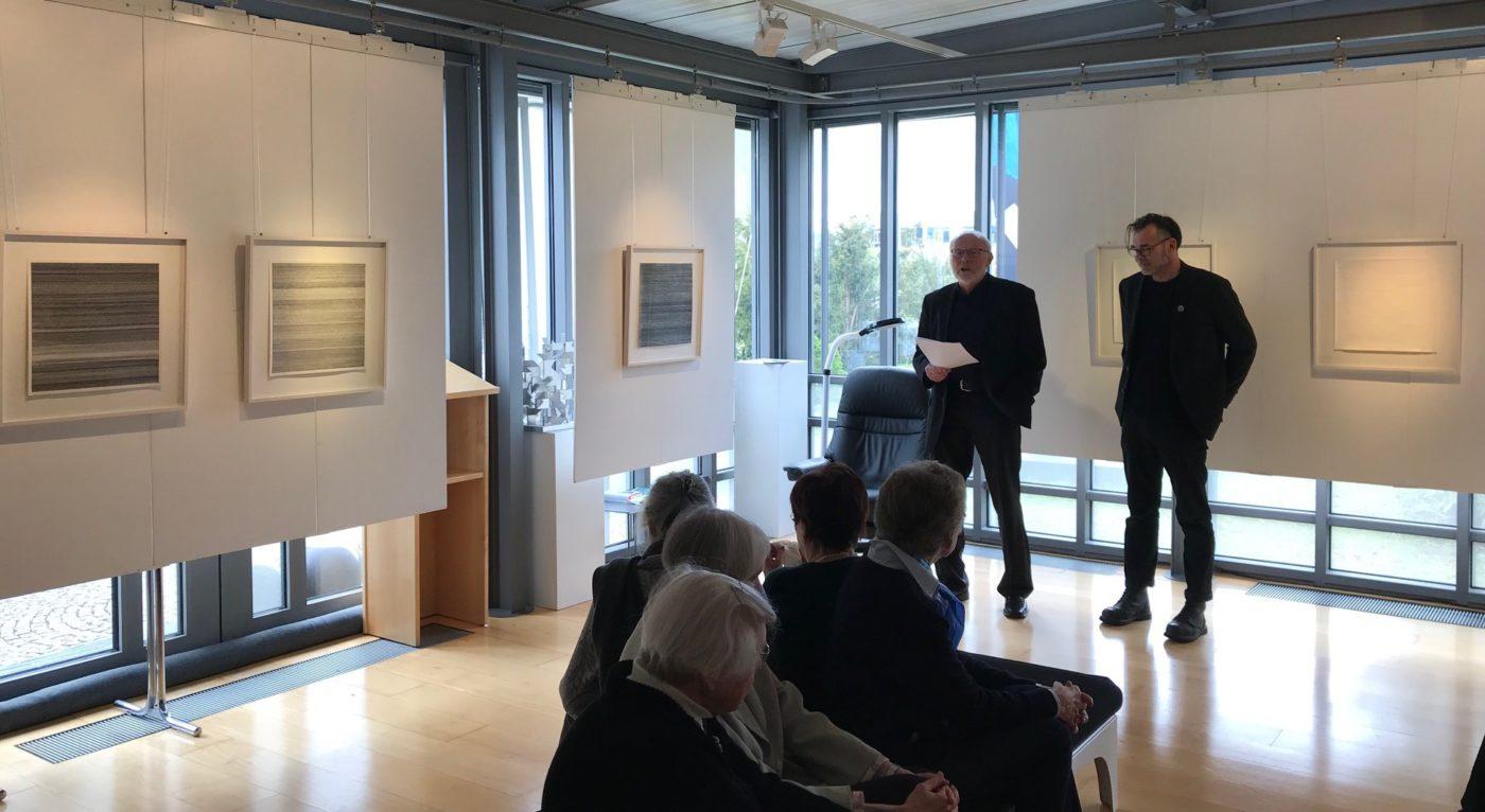 Vernissage in der Galerie Goller, Selb